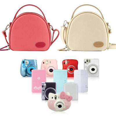 Outlet Appeal Rondom color Leather Shoulder Bag - Handbags
