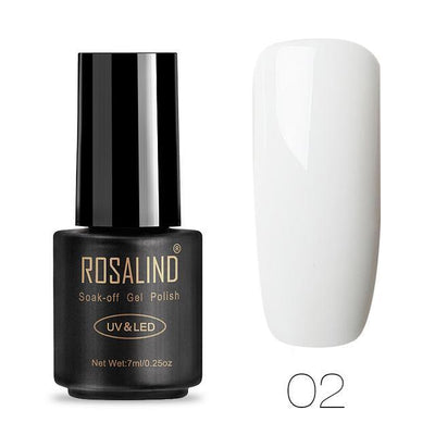 Outlet Appeal ROSALIND UV Cured Nail Gel Soak Off Nail Art Single 7ml Bottle - 28 Colors (31 - 58) with Top and Base Coat Available