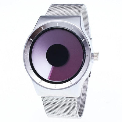 Outlet Appeal Rose Mens Womens Unisex Metal Mesh Band Fashion Quartz Wrist Watch
