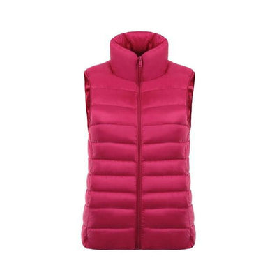Outlet Appeal Rose Red / L / China Ultra Light Jacket Vest - 11 Colors