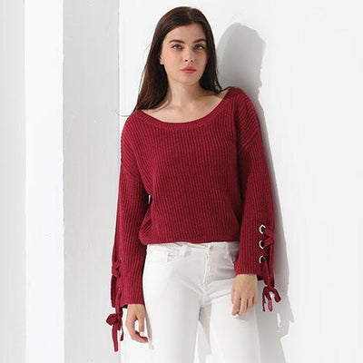 Outlet Appeal Rosy / L Sweater Women Loose Jumper Women Sweaters And Pullover Female Knit Tops GAREMAY