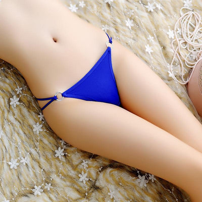 Outlet Appeal Royalblue Free Size Women Ring T Back Thongs G-string Panty Underwear