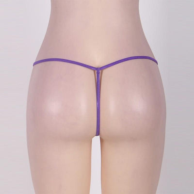 Outlet Appeal See Through Micro Mini G-String Panties - 4 Colors - Medium-6XL