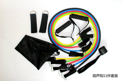 Outlet Appeal Set1 11pcs/Set Resistance bands exercise set fitness yoga Expanders Exercise Tubes