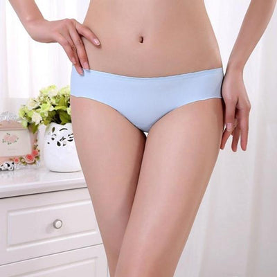 Outlet Appeal Sky Blue JECKSION Women Panties 2016 Hot Sexy Invisible Underwear Spandex Seamless Crotch