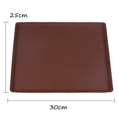 Outlet Appeal small size Non-stick Silicone Oven Mat Cake Roll Rectangle Baking Bakeware Baking& Pastry Tools