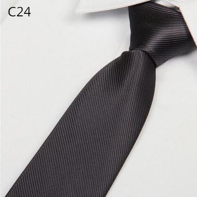 Outlet Appeal Solid 8cm slim ties men necktie Fashion Man Accessories For Party Business Formal lot
