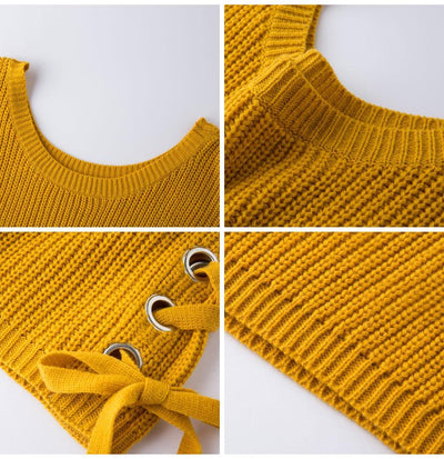Outlet Appeal Sweater Women Loose Jumper Women Sweaters And Pullover Female Knit Tops GAREMAY