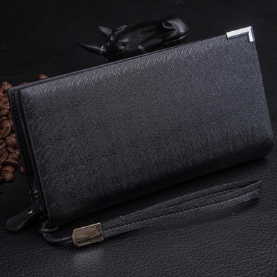 Outlet Appeal Synthetic Leather mens wallets and purses multifunction long wallet men Bi-Fold flip wallet