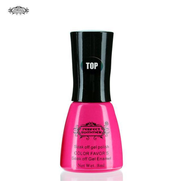 Outlet Appeal Top Gel Nail Polish UV Cured Long Lasting Up to 30 days Gel Lacquer Soak off