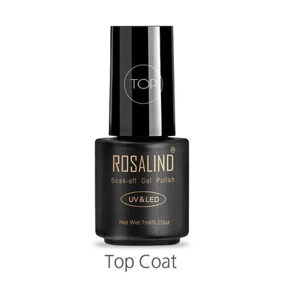 Outlet Appeal TOP ROSALIND UV Cured Nail Gel Soak Off Nail Art Single 7ml Bottle - 28 Colors (31 - 58) with Top and Base Coat Available