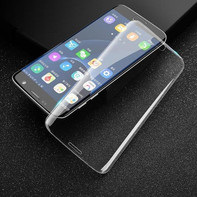Outlet Appeal Transparent / For S6 Edge TOMKAS For Samsung Galaxy S6 Edge S7 Edge Screen Protector Glass Edge To Edge Tempered Glass