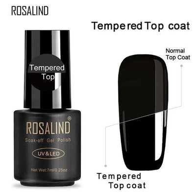 Outlet Appeal TTOP ROSALIND UV Cured Nail Gel Soak Off Nail Art Single 7ml Bottle - 28 Colors (31 - 58) with Top and Base Coat Available