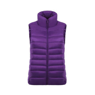 Outlet Appeal Violet / L / China Ultra Light Jacket Vest - 11 Colors