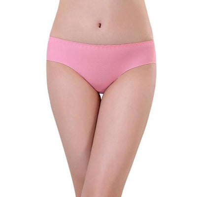 Outlet Appeal Watermelon Red JECKSION Women Panties 2016 Hot Sexy Invisible Underwear Spandex Seamless Crotch