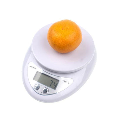 Outlet Appeal White 5000g/1g 5kg LED Electronic Scale Kitchen Digital Scale Postal Scales Cooking Tools Kitchen Scales