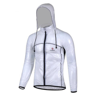 Outlet Appeal White / L Pro Cycling Raincoat Bicycle Windcoat MTB Road Bike