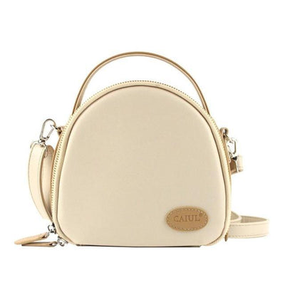 Outlet Appeal White Leather Shoulder Bag - Handbags