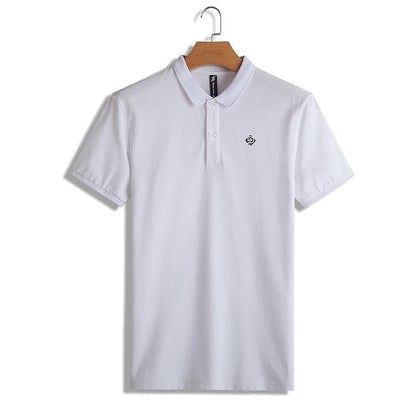 Outlet Appeal White / M / China Pioneer Camp Polo shirts men solid polos male top quality 100% cotton casual summer