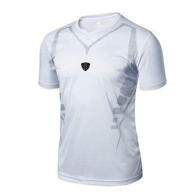 Outlet Appeal White / M Man Workout Fitness Sports Gym Running Yoga Athletic Shirt Top