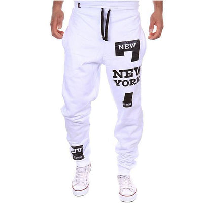 Outlet Appeal White / XXL M-3XL Men's Jogger Sportwear Baggy Casual Pants Trousers Sweatpants Dulcet