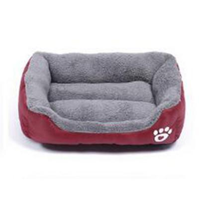 Outlet Appeal wine red / S Pet Bed Soft Material Pet Nest Dog Cat Puppy Small to XXXLarge