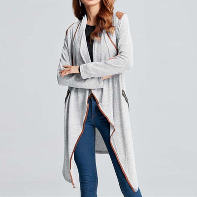 Outlet Appeal Winter Coat - Vintage Knitted Long Cardigan