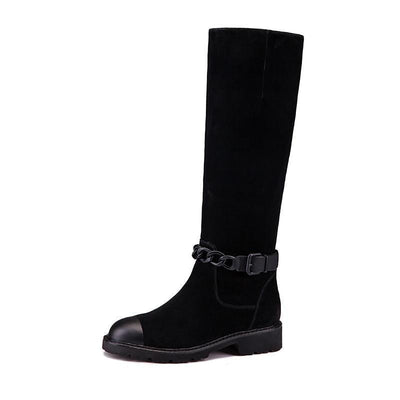 Outlet Appeal Women boots Genuine leather Winter shoes woman Mid-calf 35-40 Fashion high quality Free shipping BASSIRIANA