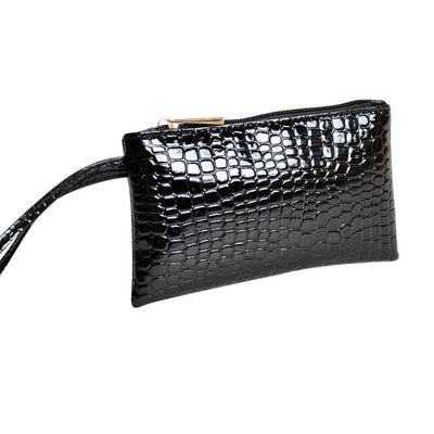 Outlet Appeal Women's Faux Crocodile Leather Clutch Coin Purse Wallet