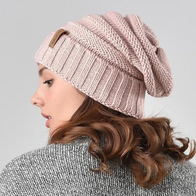 Outlet Appeal Women's Knitted Slouchy Beanie Hat
