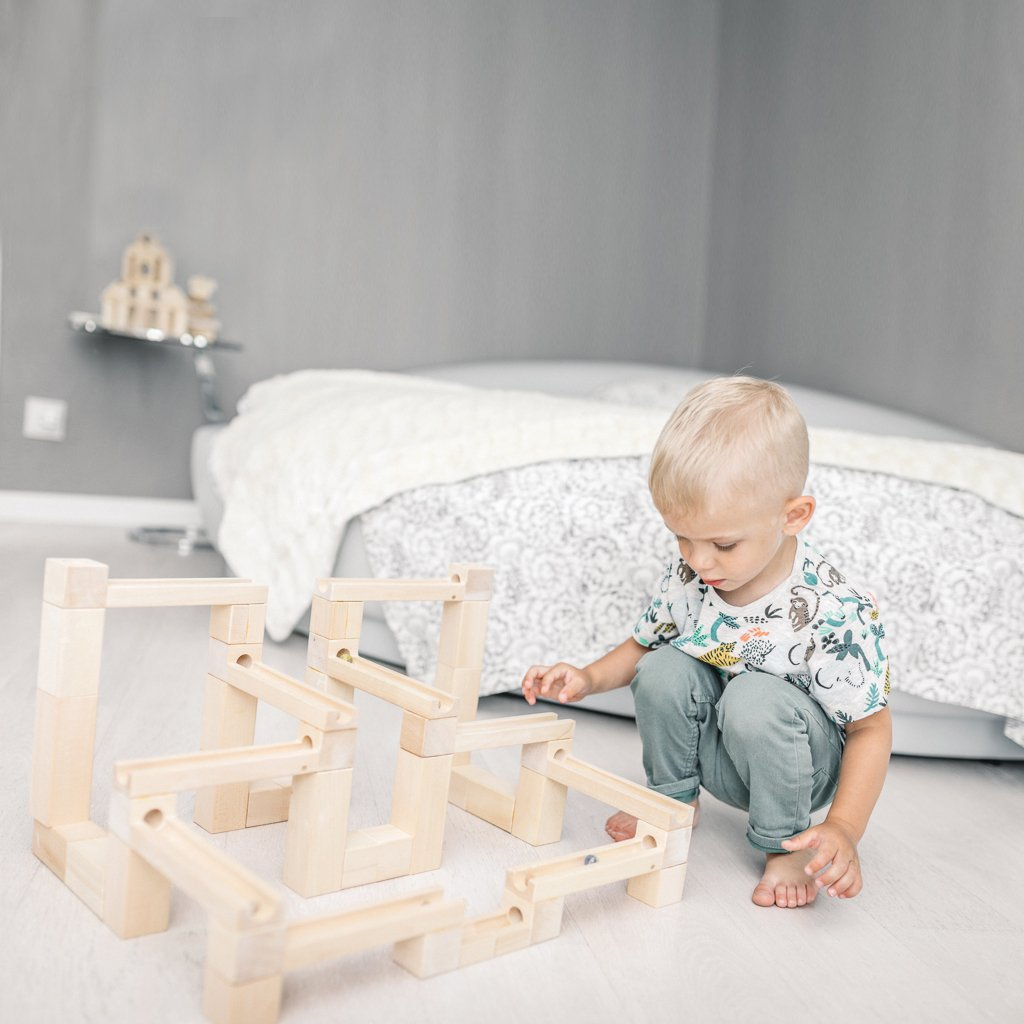 Special-Order - Wooden Marble Run - Slides