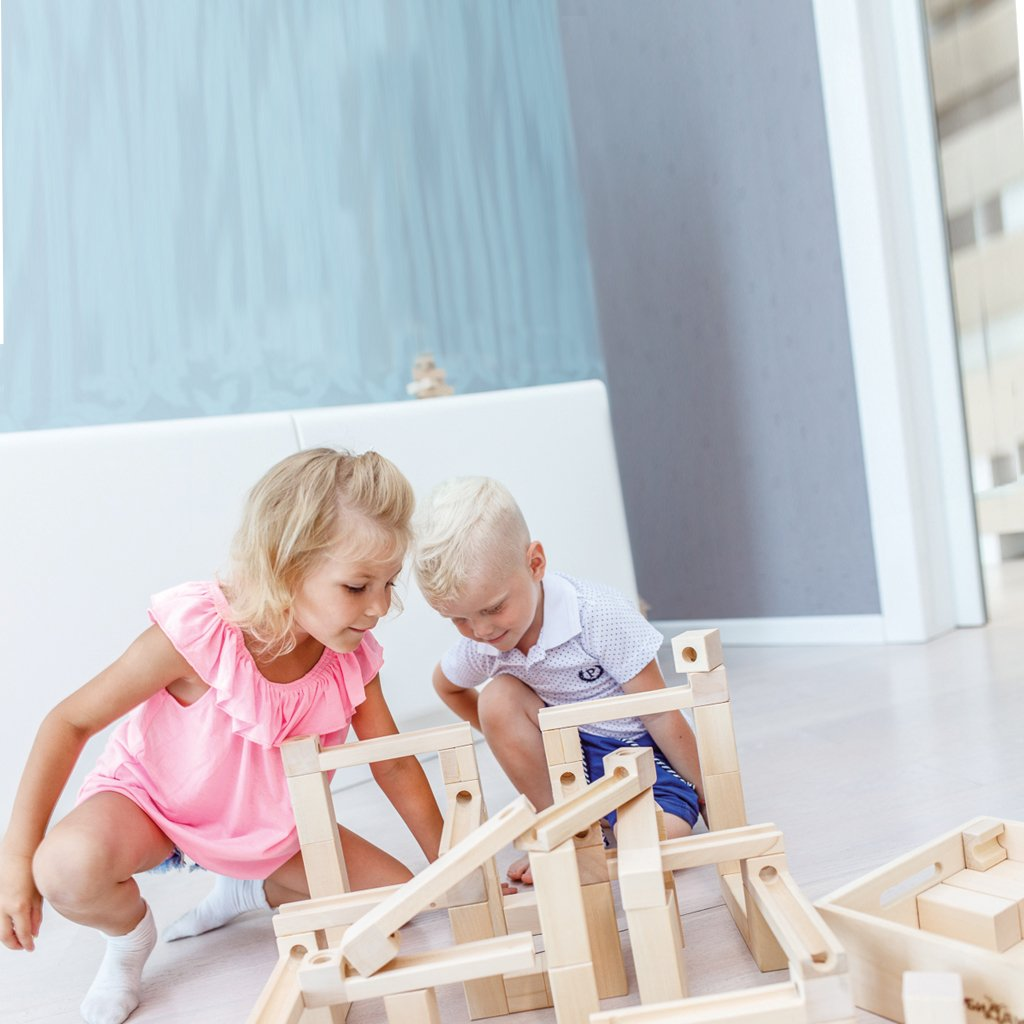 Pre-Order - Wooden Marble Run - Slides (Arriving Oct)
