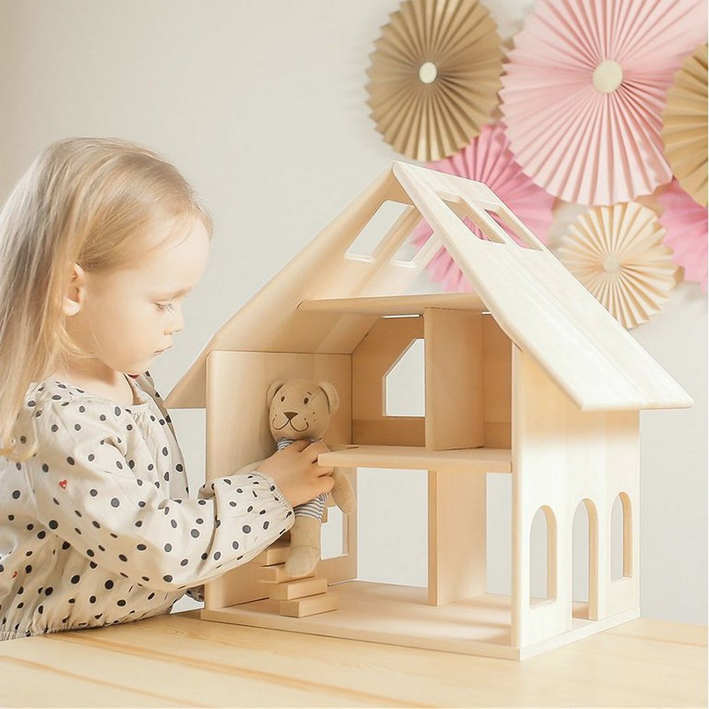 Pre-Order - Wooden Doll House - Majesty (Arriving Oct)
