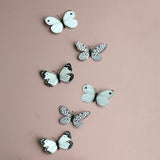 3D Butterfly Wall Decal Set