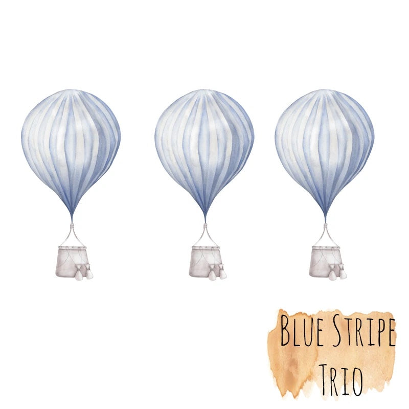 Hot Air Balloons - Mini Trio