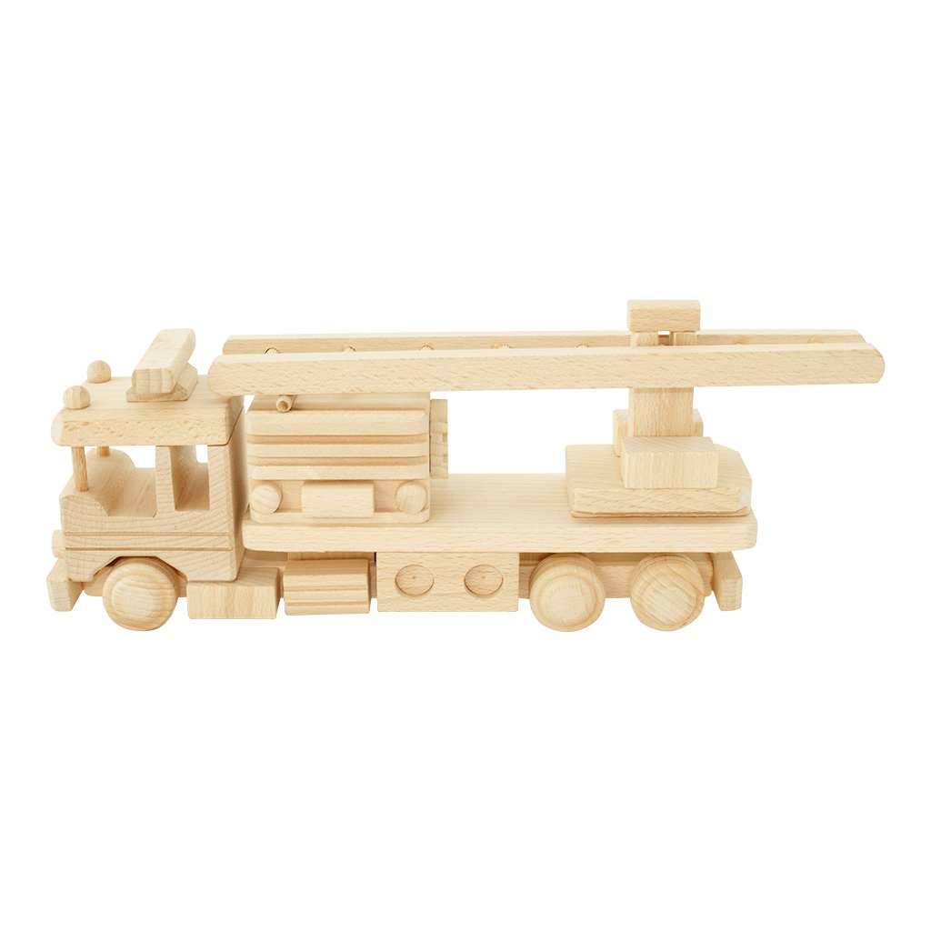 Wooden Fire Truck - Welles