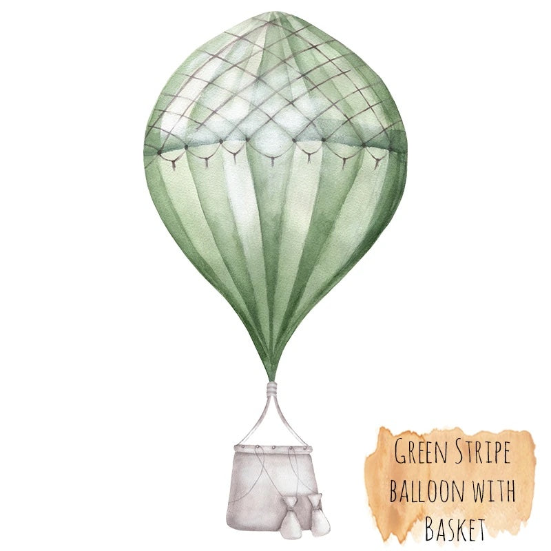 Medium Hot Air Balloon with Basket