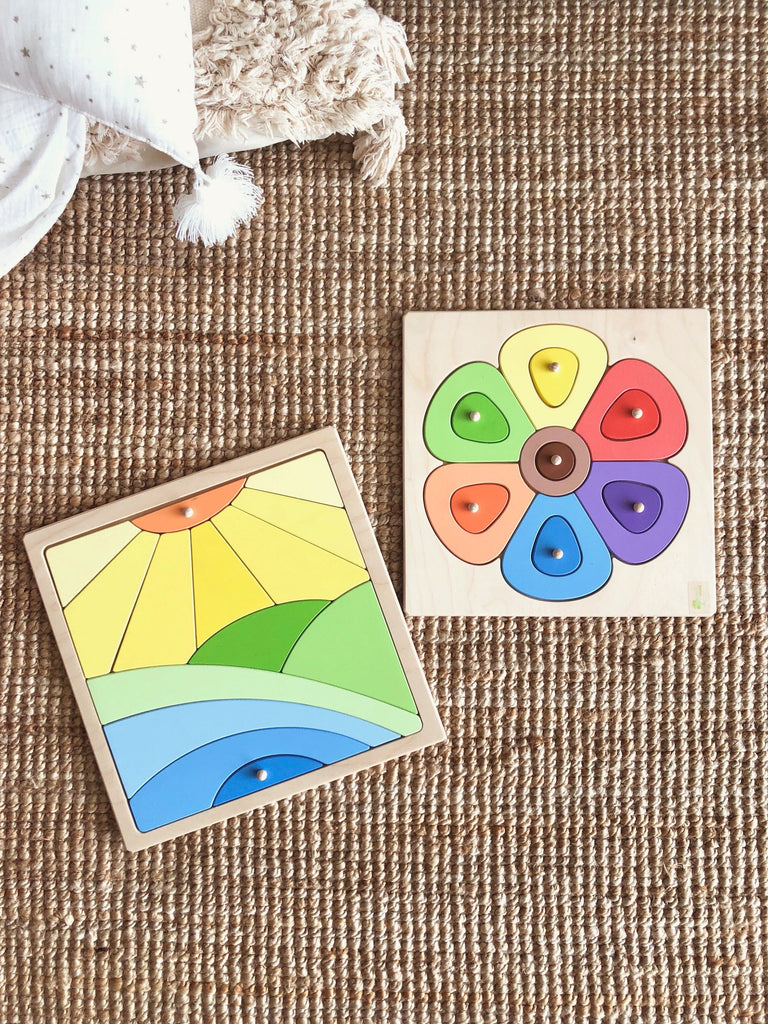 Pre-Order Flower - Wooden Puzzle (Arriving Oct)