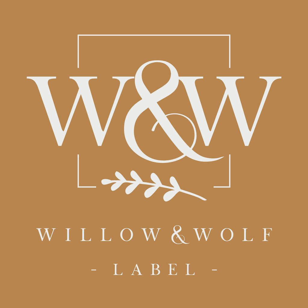 Willow and Wolf Label