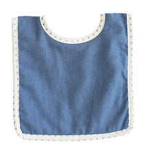 Load image into Gallery viewer, Bobby Bib - Chambray Linen