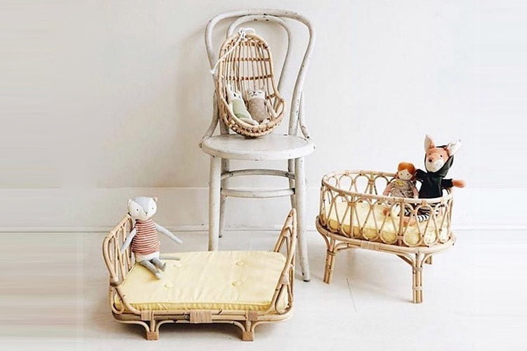 PRE-ORDER - Rattan Poppie Egg Chair
