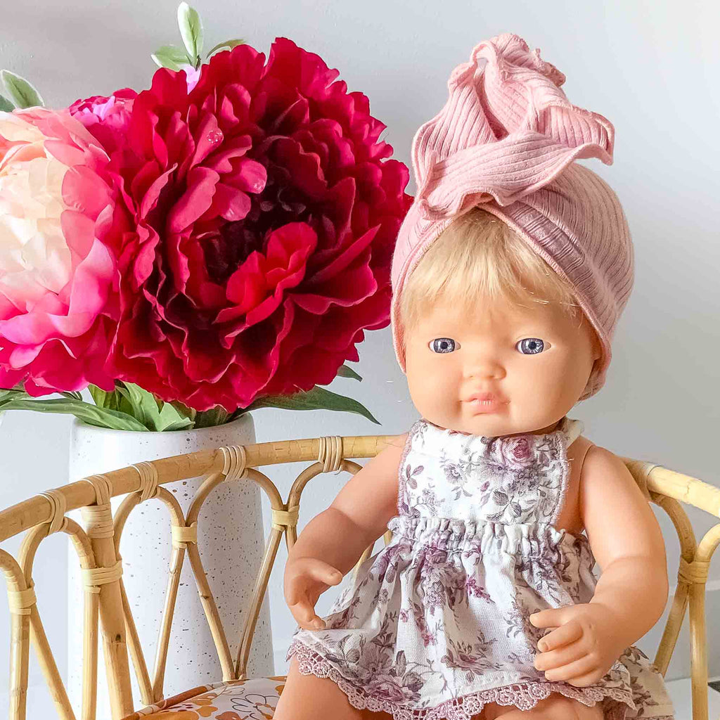 Doll Clothing- Pink Turban