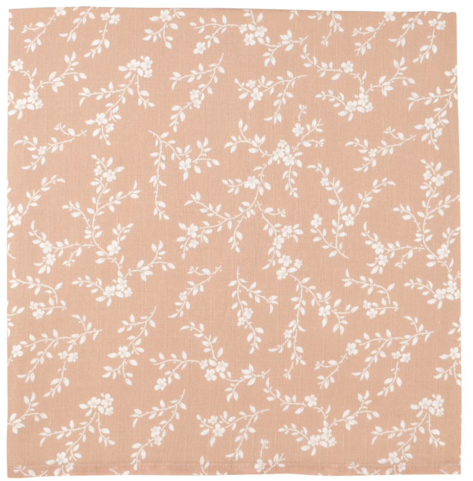 MUSLIN SWADDLE - BLOOM PEACH