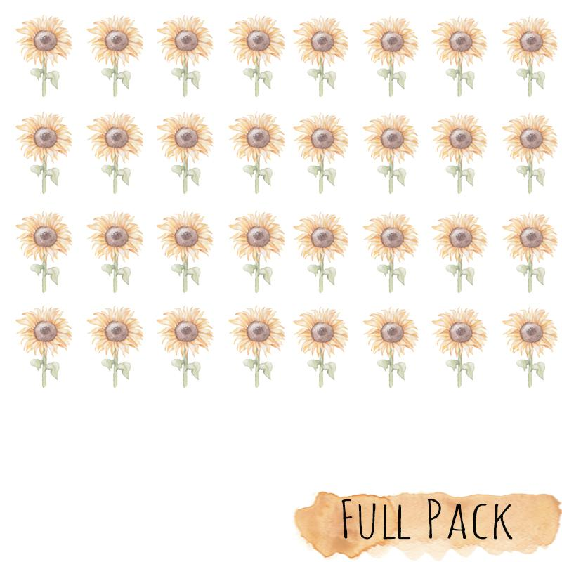 *COMING SOON* SUNFLOWER Mini Wall Decals