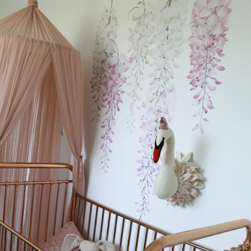 *COMING SOON* Wisteria Wall Decals - Perfectly Pink Set
