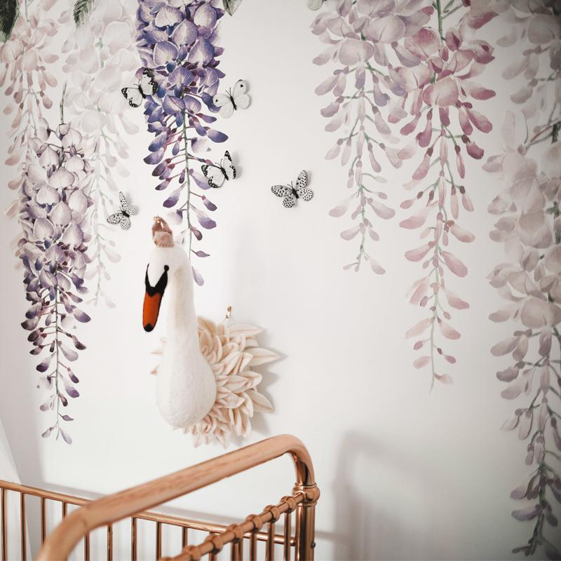 *COMING SOON* Wisteria Wall Decals - Purple Set