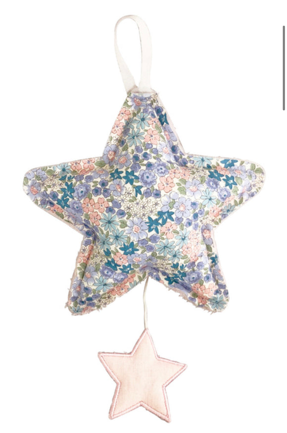 Star Musical - Pink & Blue Floral