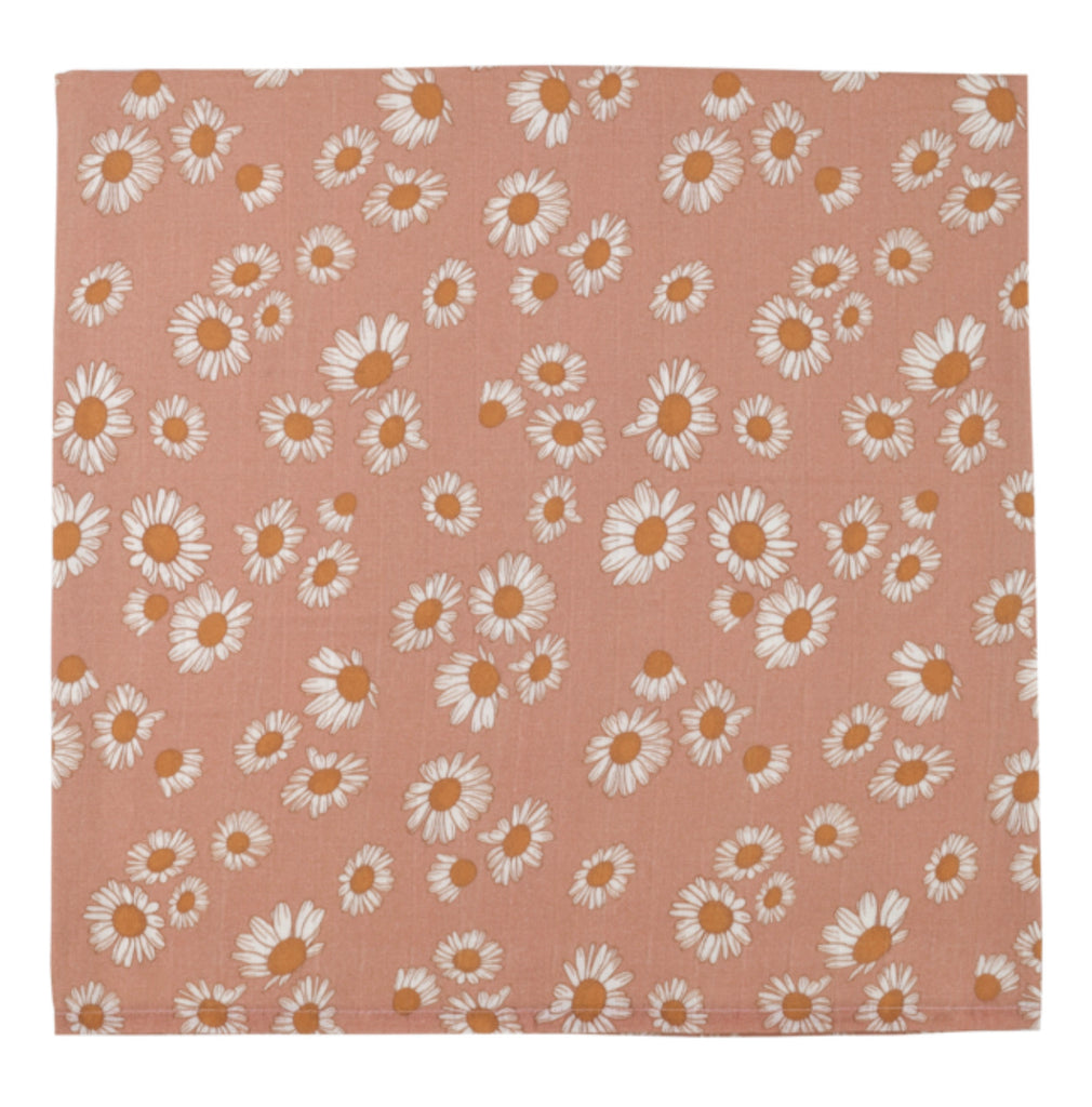 The Mini Scout Swaddle -Daisy Pink