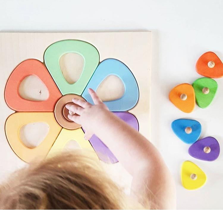 Flower - Wooden Puzzle