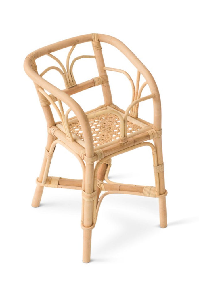PRE ORDER-Rattan Dolls Highchair